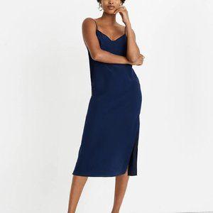 Madewell Silk Slip Dress